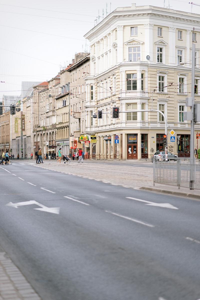 Piękne ulice Wrocławia