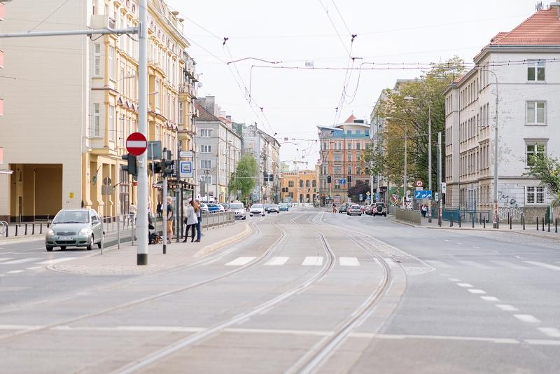 Puste wrocławskie ulice
