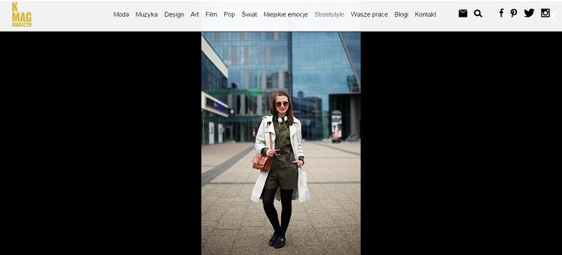 Stylizacja blogerki dla K Mag