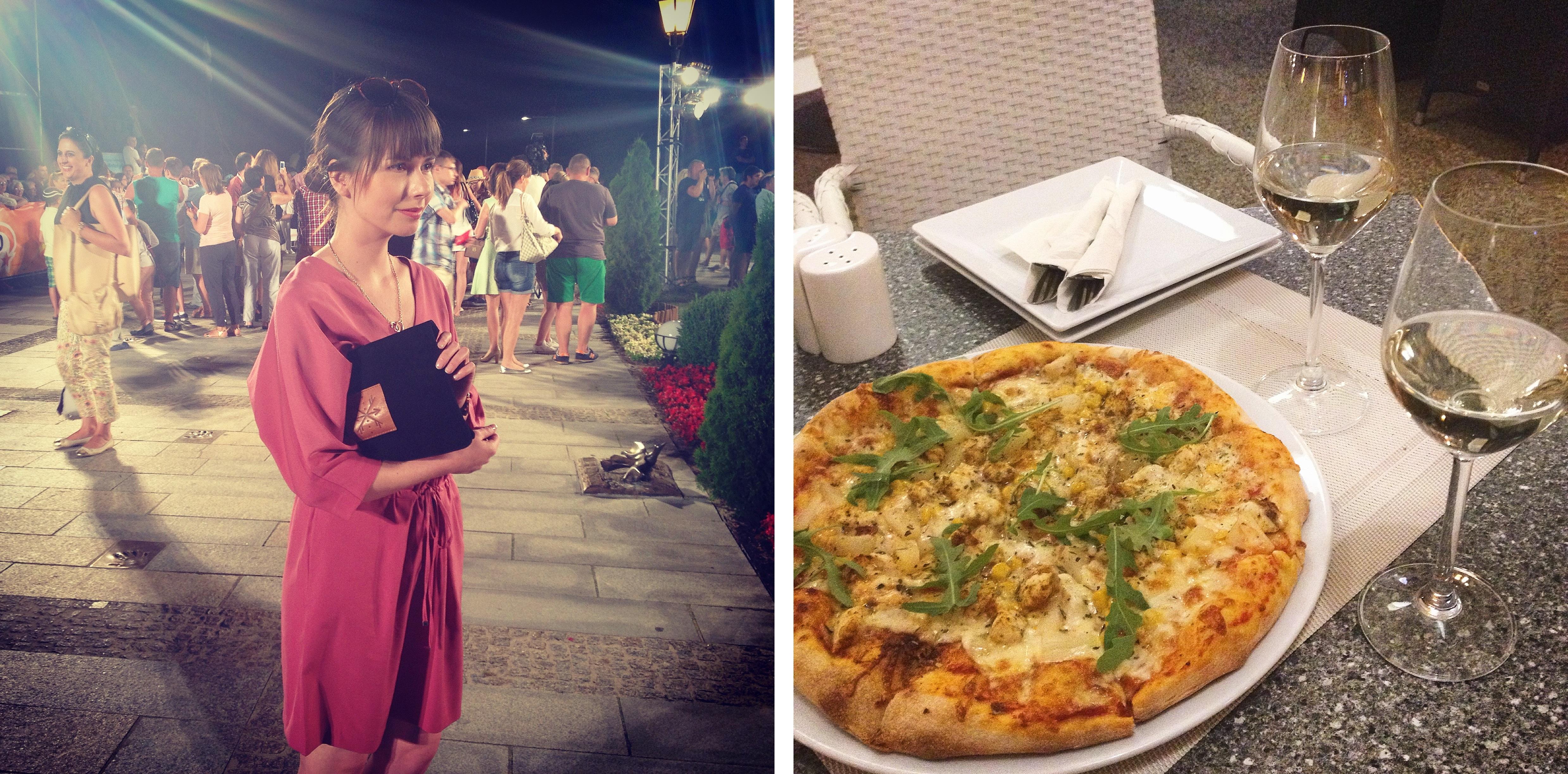 Instagram mix międzyzdroje - pizza i stylizacja z gali