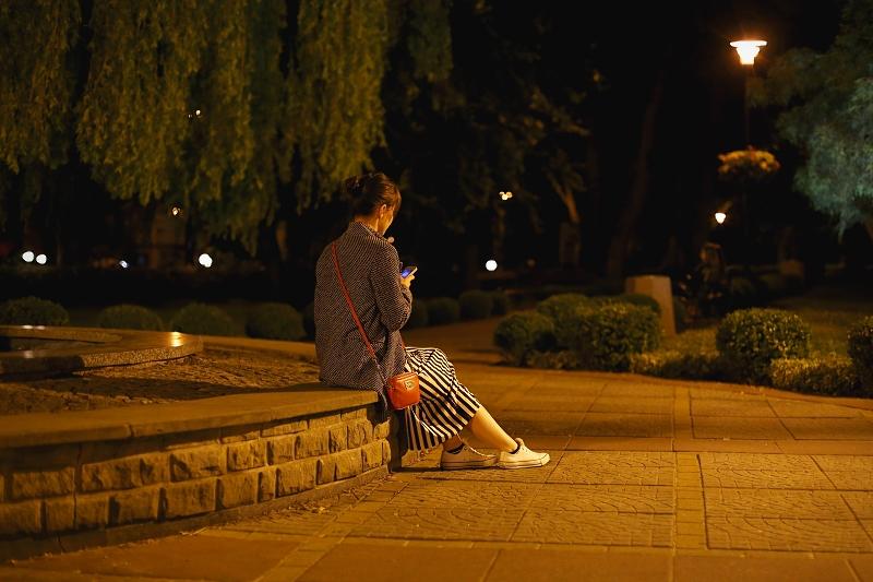 Nocna sesja zdjęciowa w Międzyzdrojach