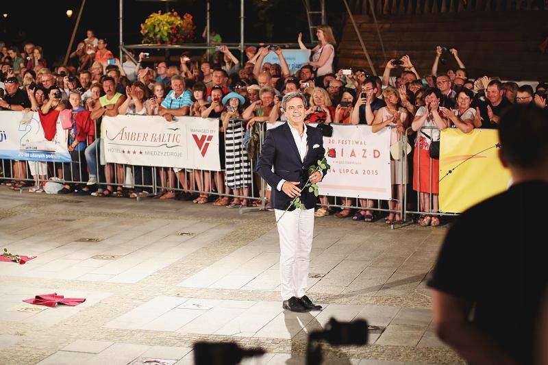 Piotr Polk na Festiwalu Gwiazd w Międzyzdrojach