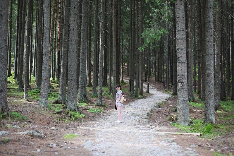 Szlak niebieski w Tatrach, sesja zdjęciowa
