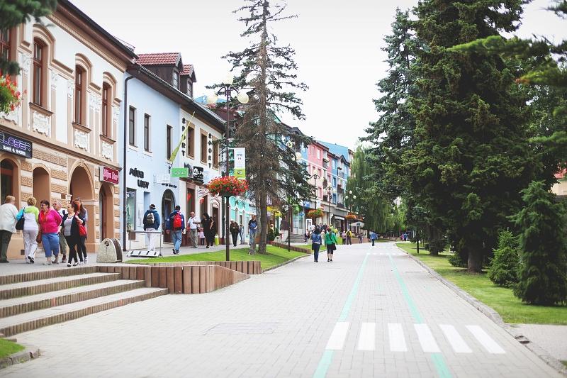 Rynek w słowackim Popradzie