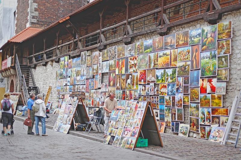 Krakowscy artyści uliczni