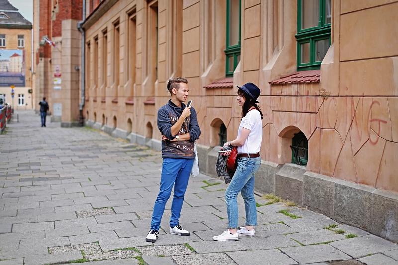 Spacer z przyjacielem po Krakowie