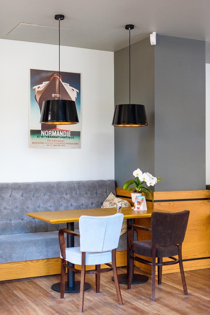 Wnętrze Corner Cafe w Gdyni