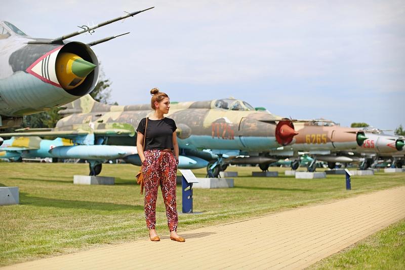Zwiedzamy samoloty - Dęblin
