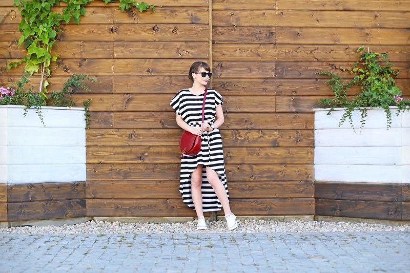 Sukienka asymetryczna Brunoszka