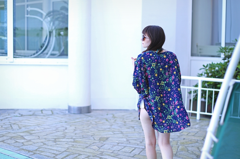 Kimono do kostiumu kąpielowego