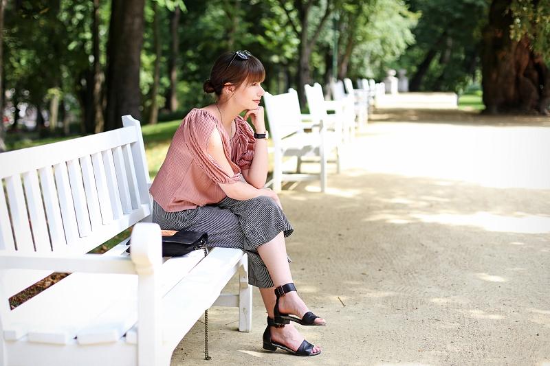 W parku w Lublinie