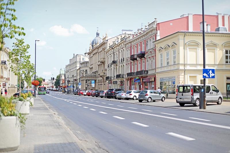 Aleje Racławickie w Lublinie
