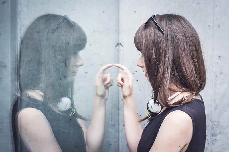 Odbicie lustrzane - sesja zdjęciowa