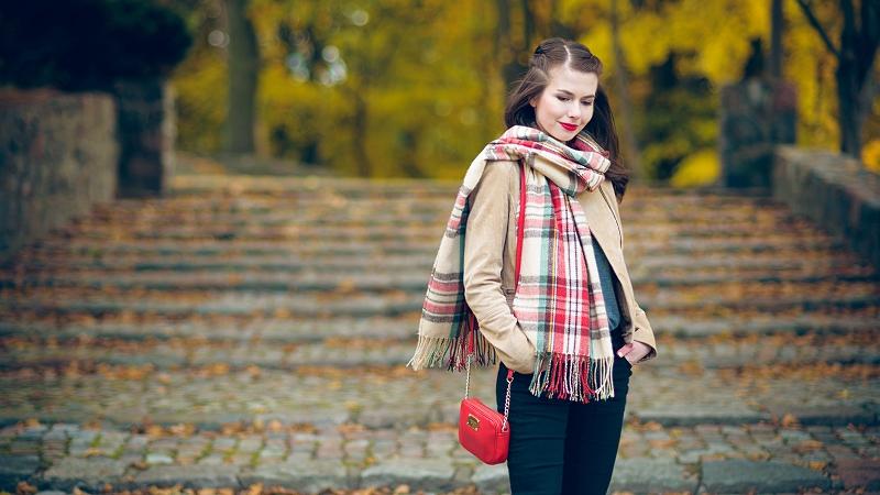 Jesienna stylizacja - sesja w Gdyni