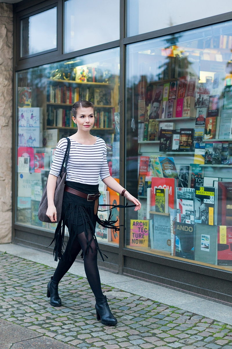 Księgarnia - sesja zdjęciowa na blogu