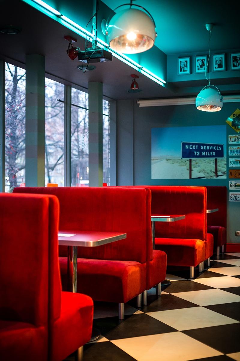 Casino Diner - amerykański wystrój restauracji