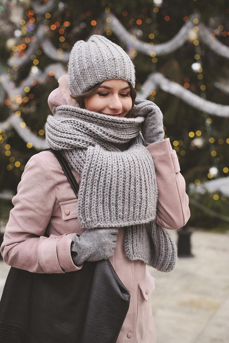 Ręcznie robione zimowe dodatki