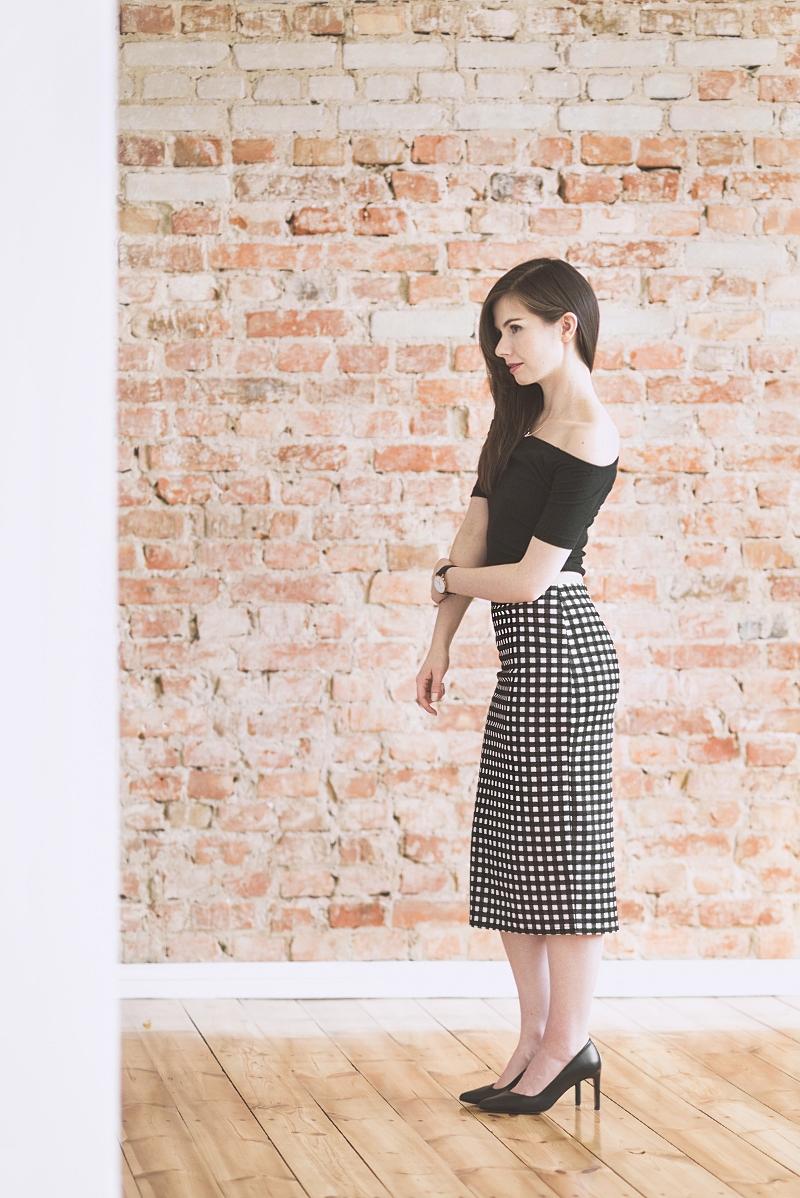 Kobieca elegancka stylizacja