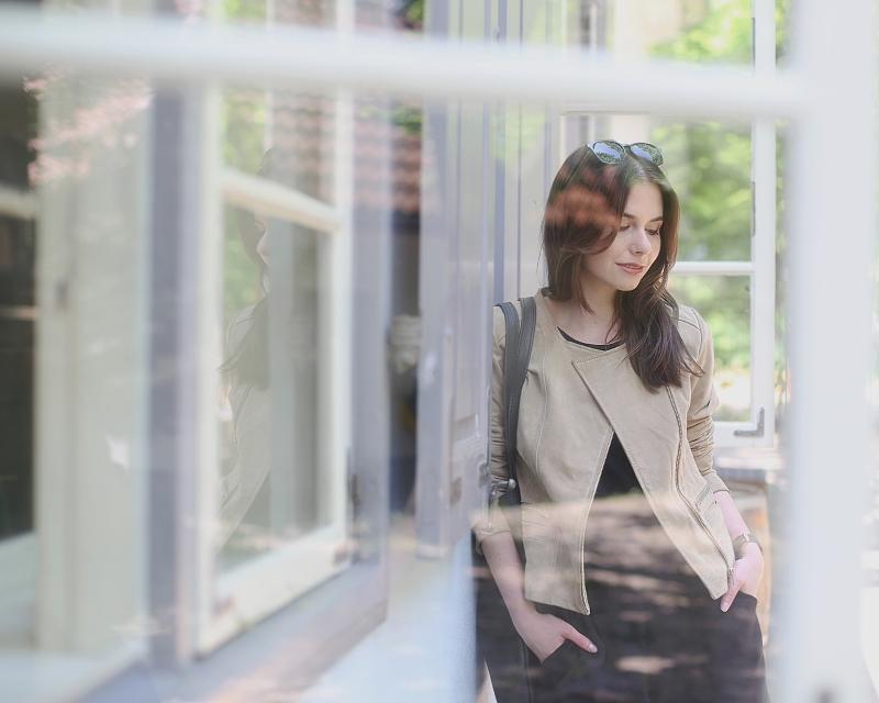 Zdjęcie w oknie
