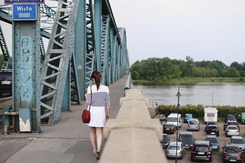 Most w Toruniu - sesja modowa