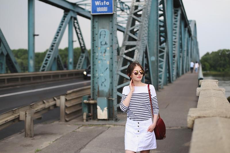 Wycieczka do Torunia - most nad Wisłą