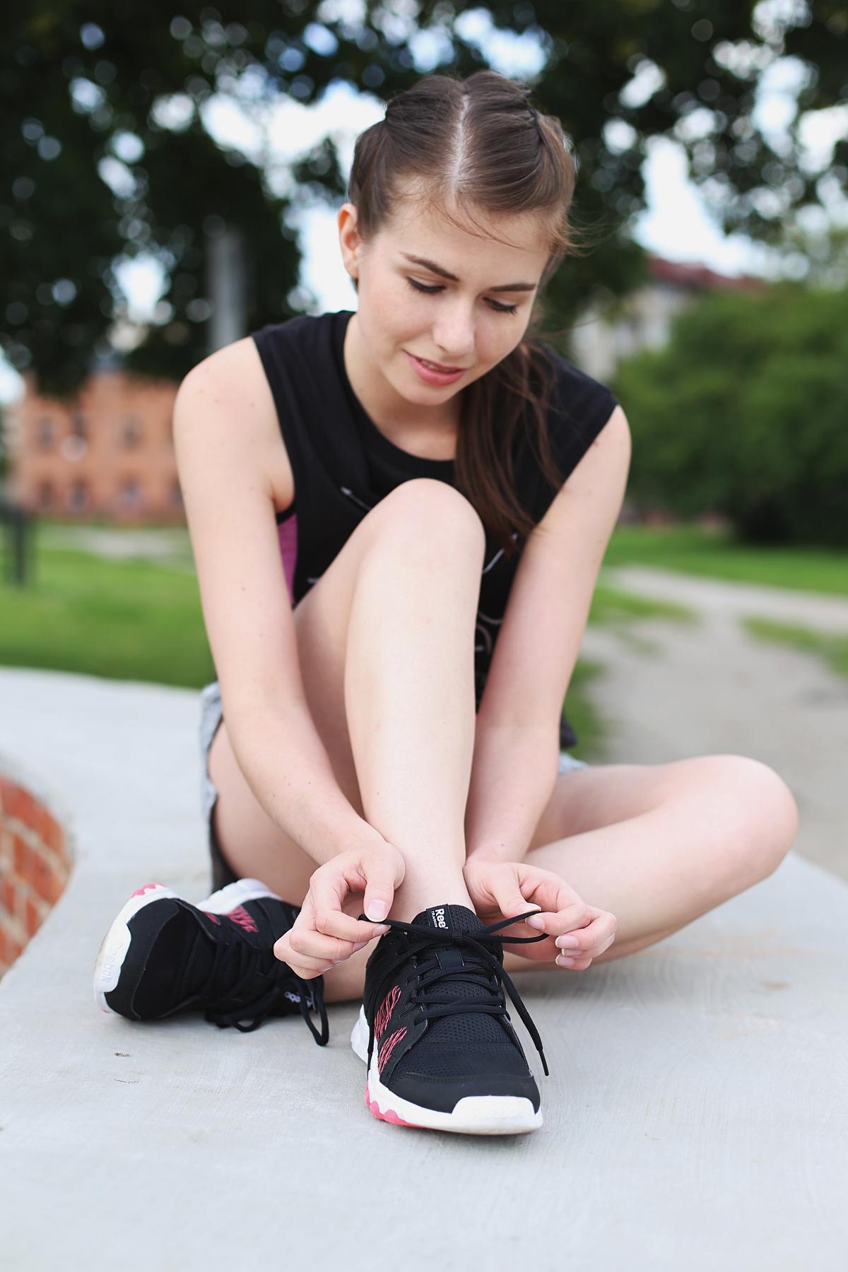 Strój do ćwiczeń - buty Reebok
