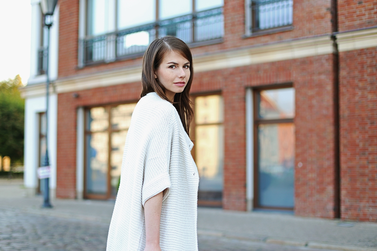 Sweter oversize - blog modowy