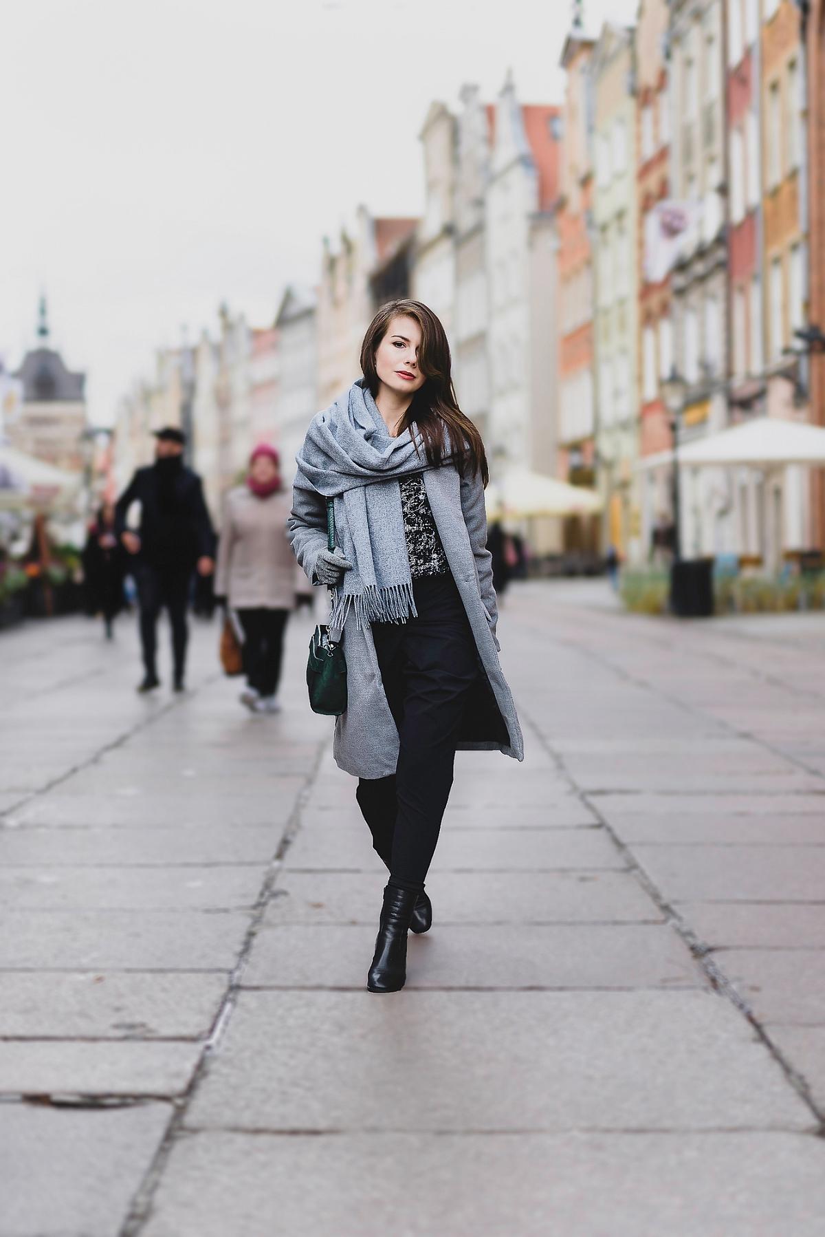 Sesja modowa - Gdańsk ul. Długa