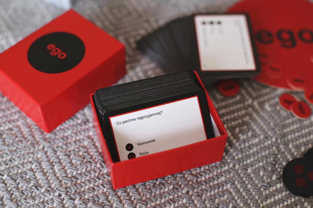 EGO - gra planszowa dla dwojga i dla przyjaciół