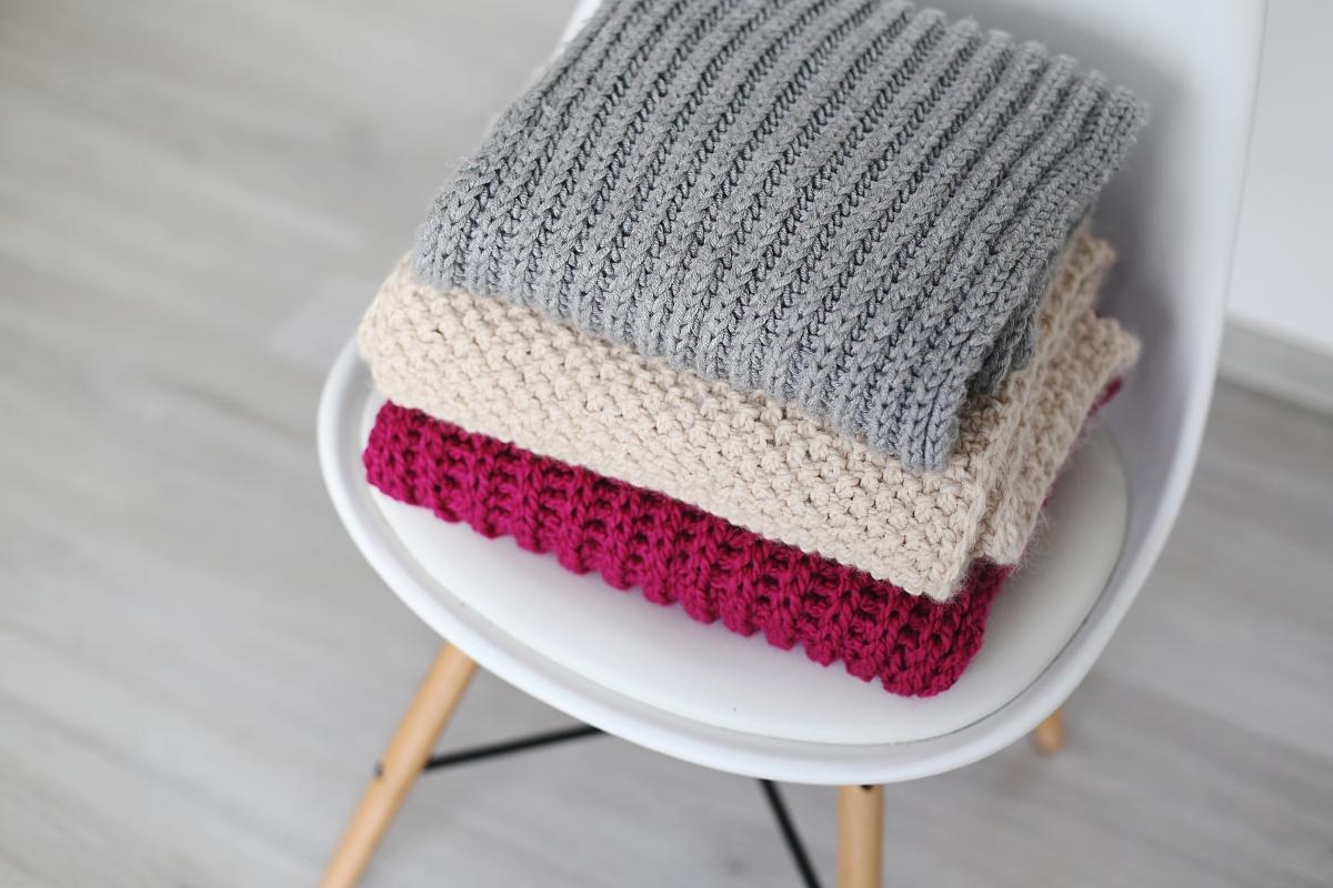 Rodzaje wełny - wełniane szaliki