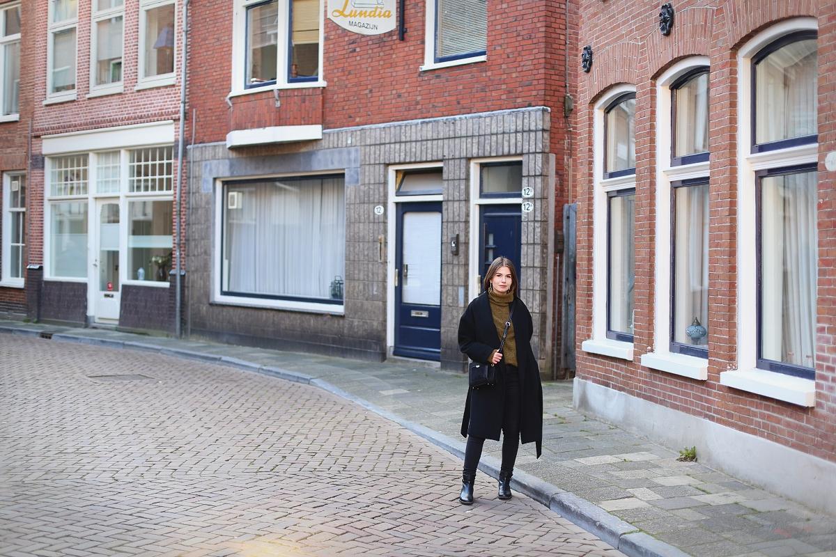 Sesja modowa w Groningen w Holandii