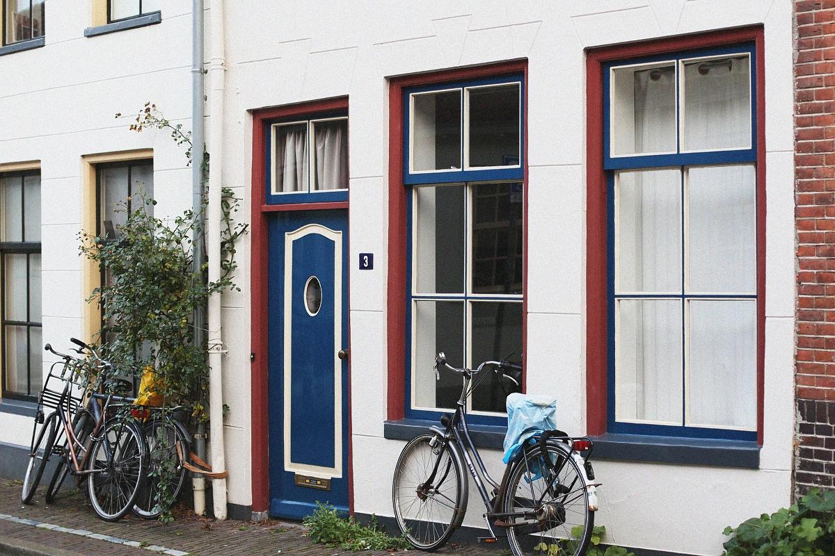 Architektura i rowery w Groningen