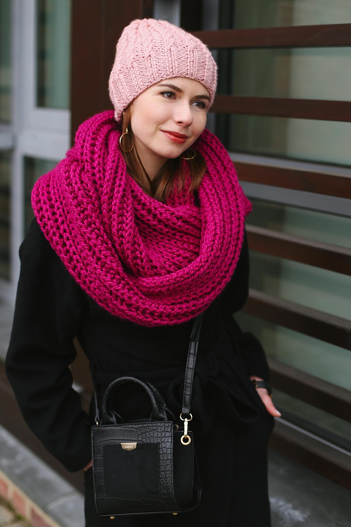 Blog modowy - zimowa sesja zdjęciowa