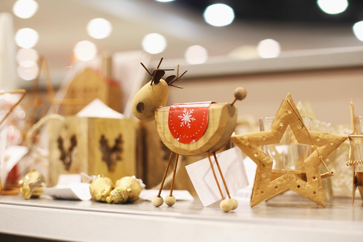 Drewniane ozdoby świąteczne