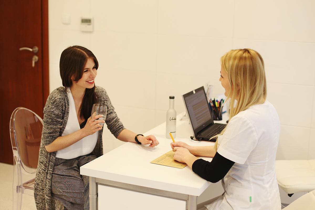 Wizyta w klinice Clinica Cosmetologica