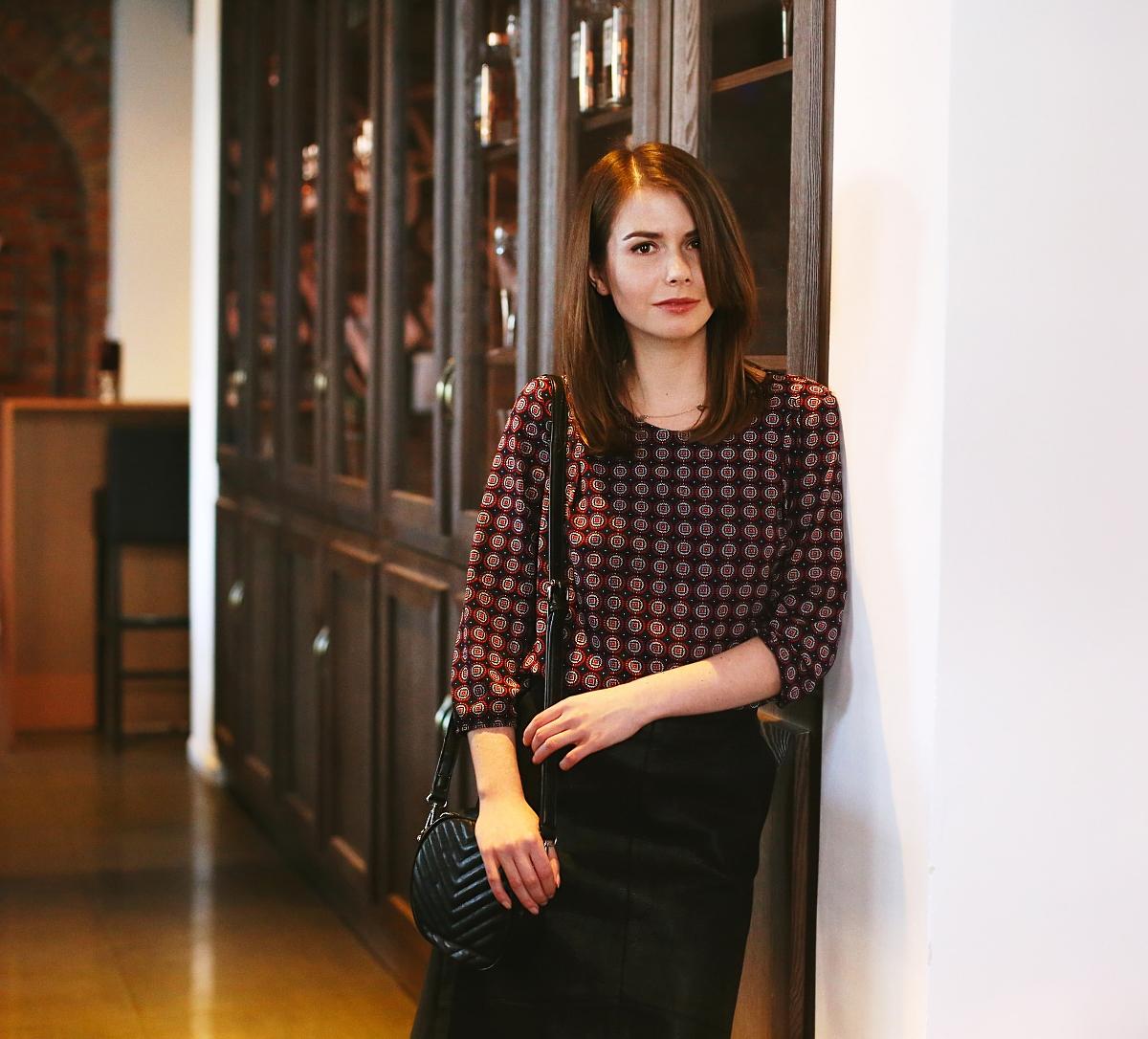Blog modowy - sesja w restauracji Eliksir