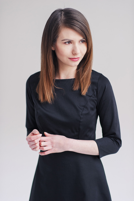 Marie Zelie - czarna Asteria