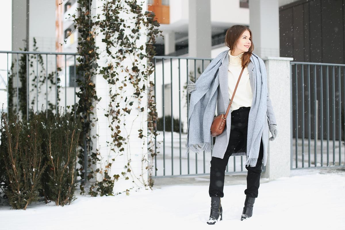 Zimowy look - blog modowy