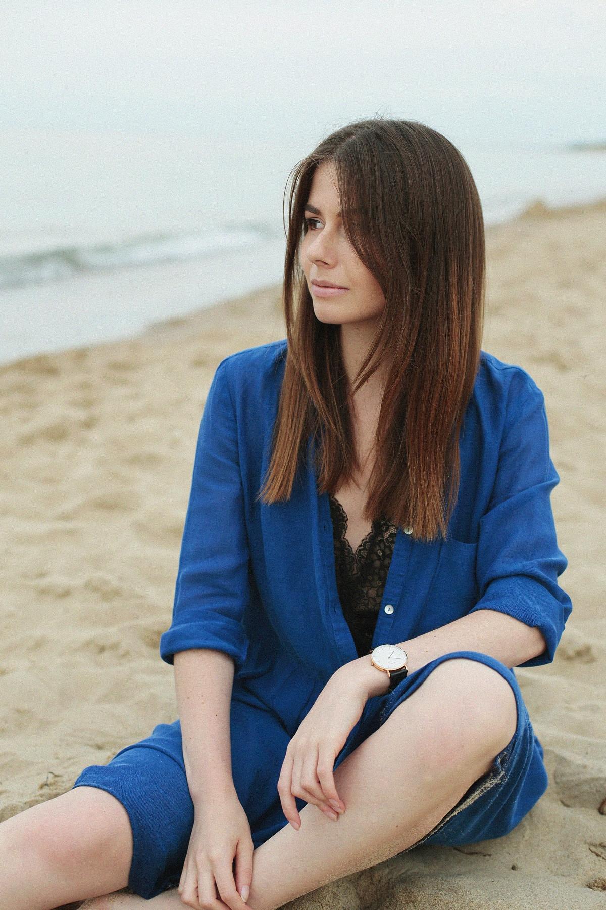 Stylizacja: Niebieska sukienka