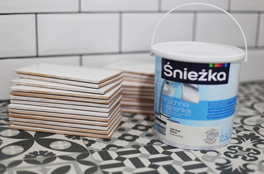 Śnieżka Kuchnia Łazienka - dobra farba do łazienki