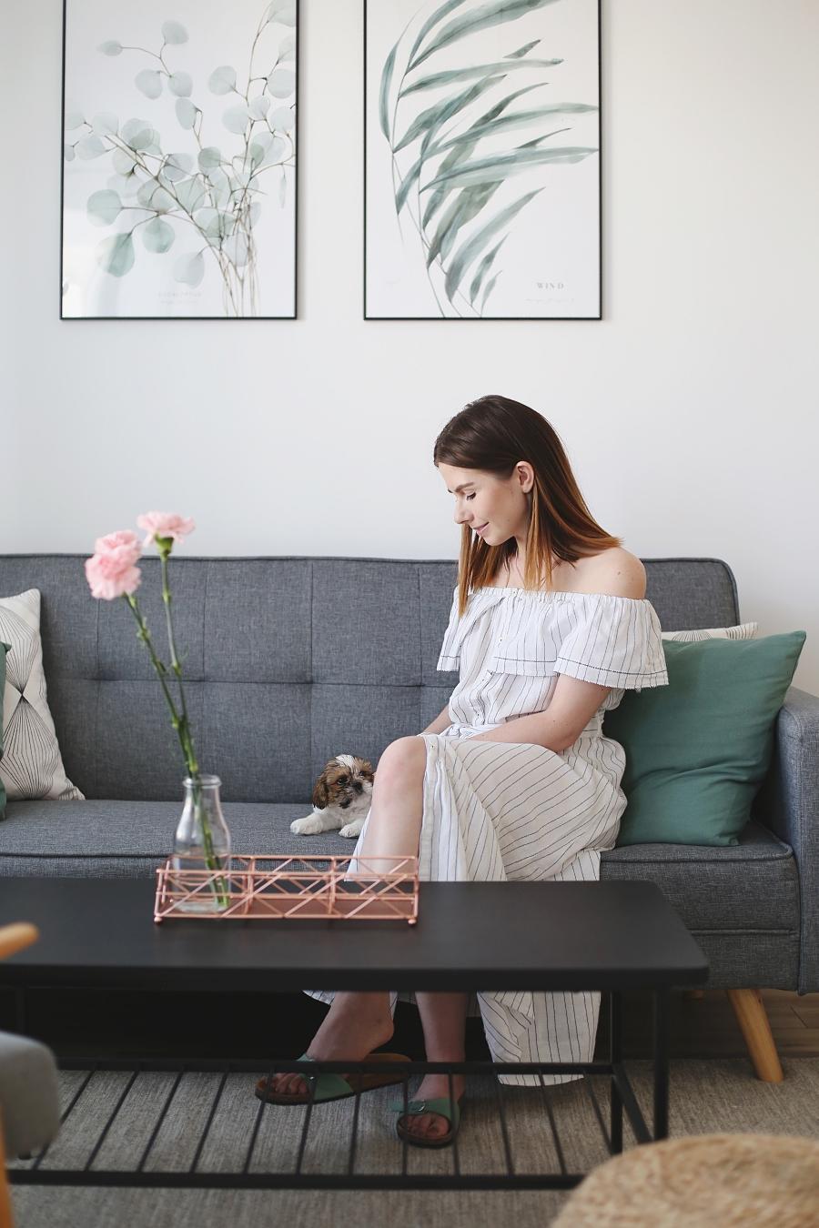 Salon z zielonymi akcentami – jak go urządzić?