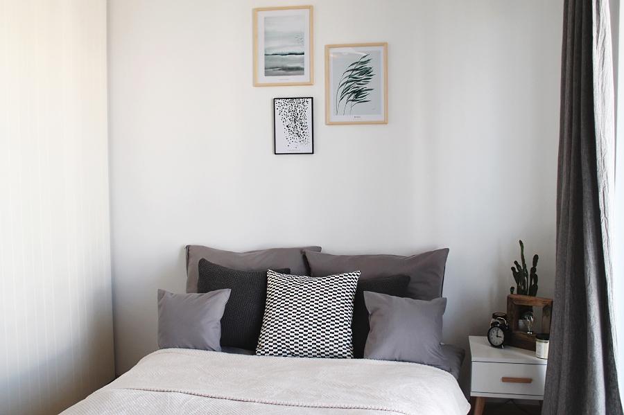 Sypialnia, garderoba i gabinet – trzy w jednym