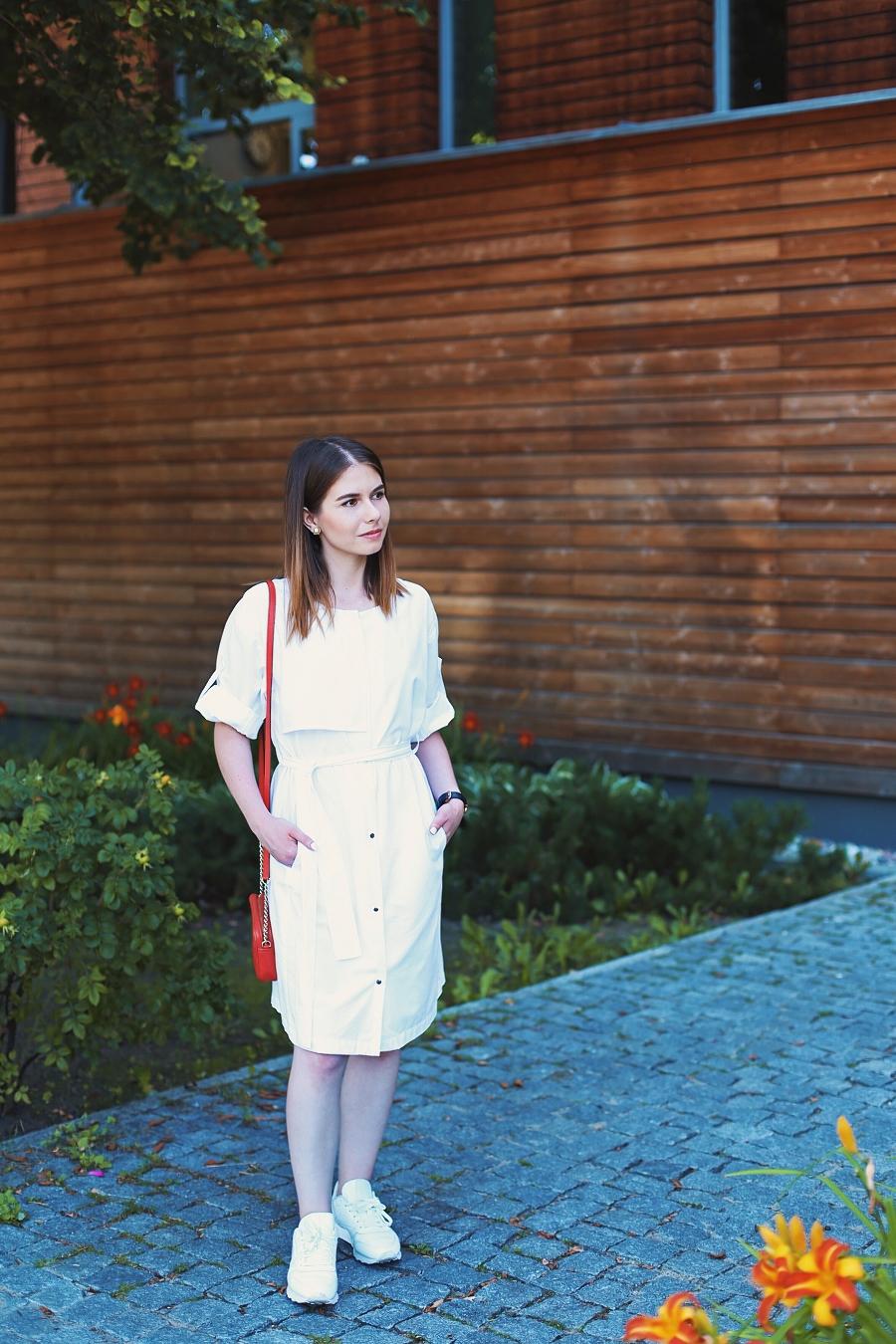 Sukienka trencz