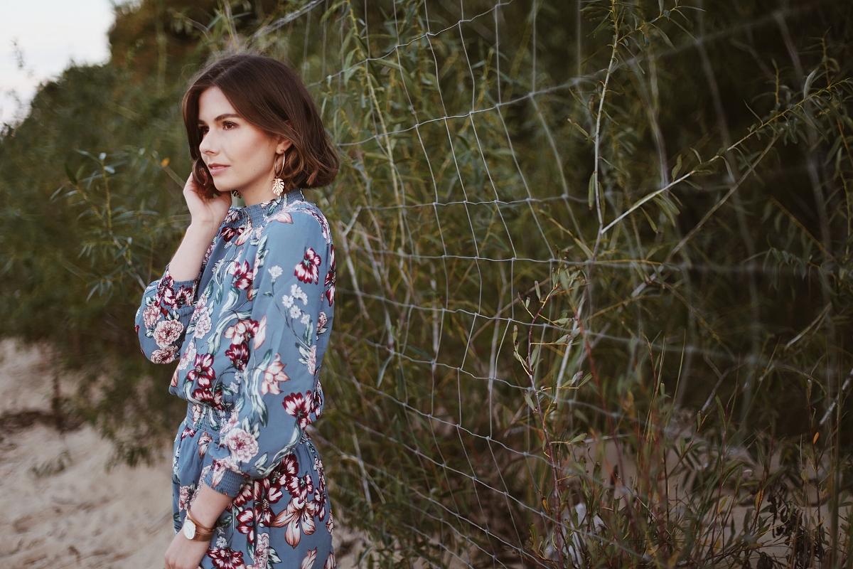 Wiskozowa sukienka w kwiaty | Peek&Cloppenburg sklep online