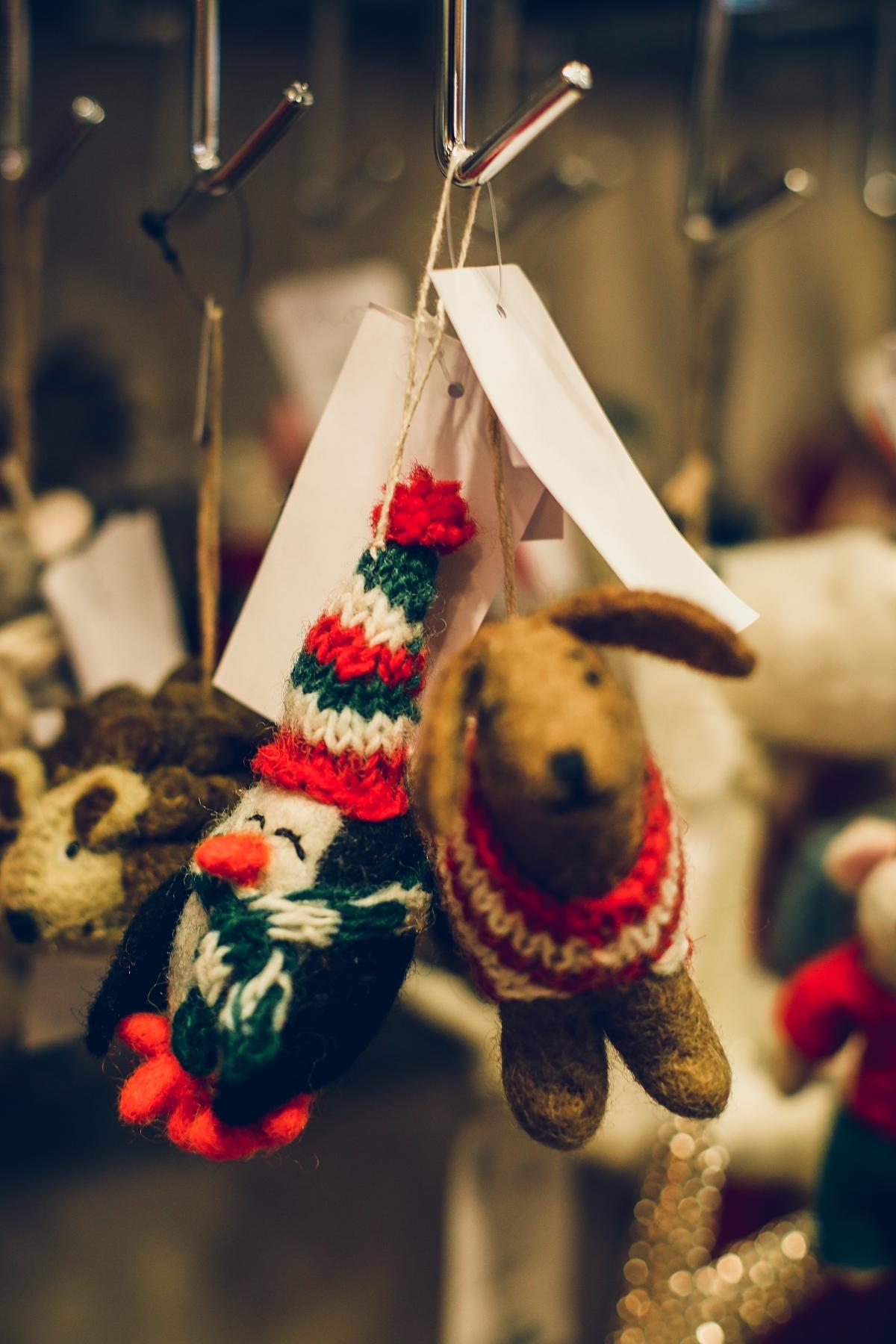 świąteczne prezenty dla każdego TK Maxx zawieszki choinkowe