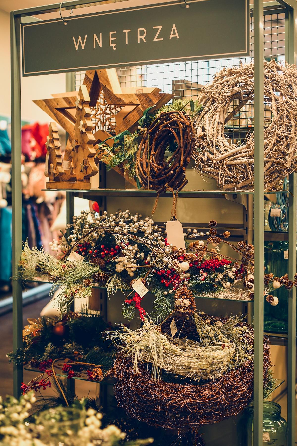 świąteczne prezenty dla każdego TK Maxx wnętrza wieńce