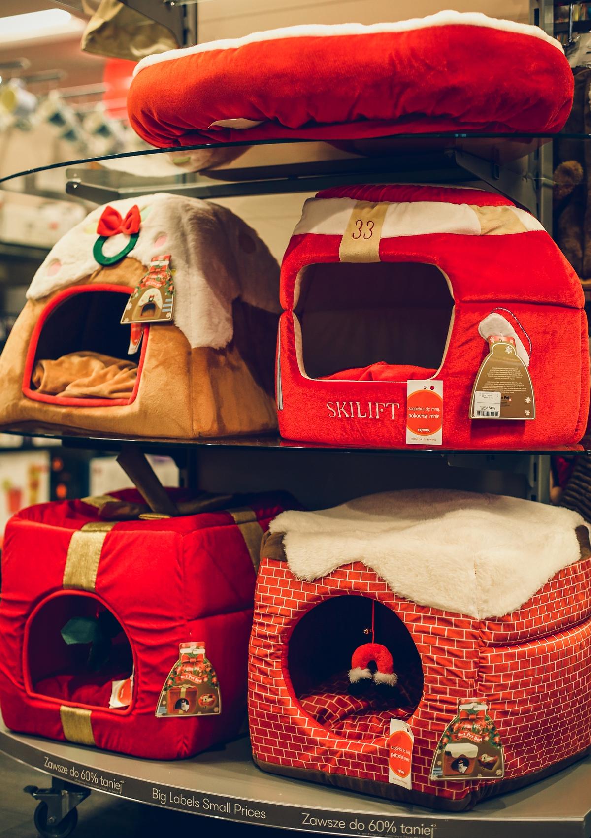 świąteczne prezenty dla każdego TK Maxx legowiska dla zwierząt