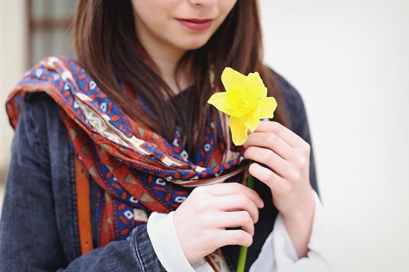 Kwiat od nieznajomego