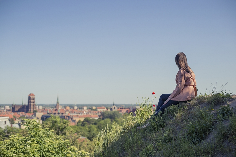 Widok na Gdańsk z Grodziska