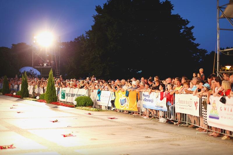 Tłumy na festiwalu gwiazd w Międzyzdrojach